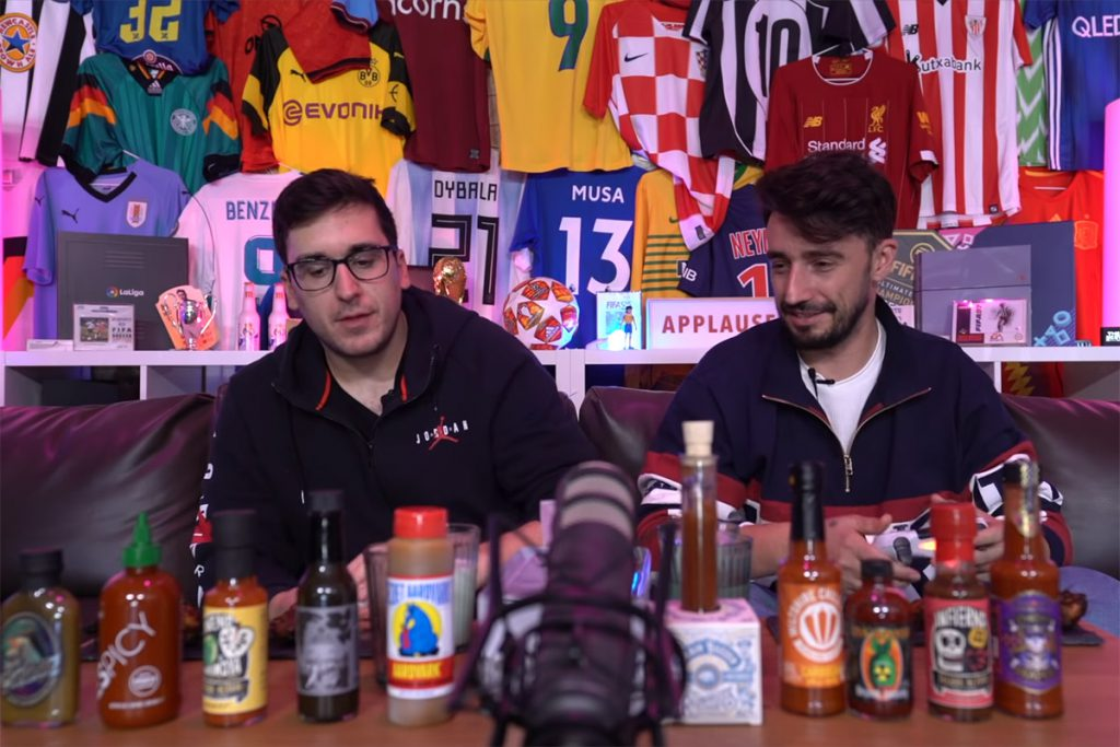 raijmakers hot sauces in youtube show called Fifalitas